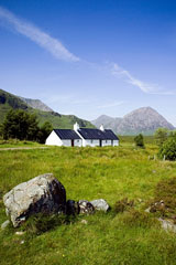 Blackrock Cottage in the Scottish Highlands