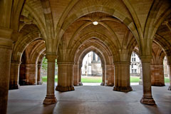 arches at Glasgow University