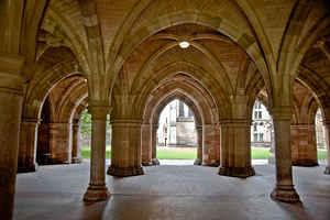 arches at Glasgow University